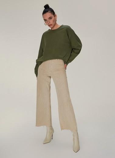 NGSTYLE Oversize Sweatshirt Haki